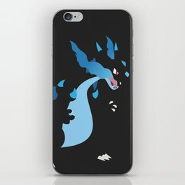 Mega Charizard X PKMN iPhone Skin