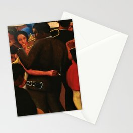 African-American 1929 Classical Masterpiece 'The Blues' by Archibald Motley Stationery Cards