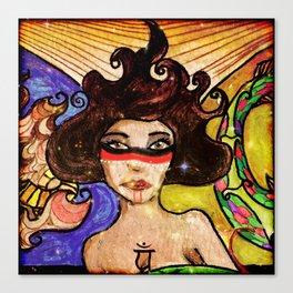 Elemental Goddess Canvas Print