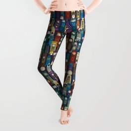 space and time Leggings