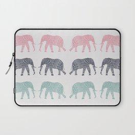 Elephant Pattern Laptop Sleeve