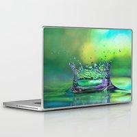 crown Laptop & iPad Skins featuring Kings Crown by ThePhotoGuyDarren
