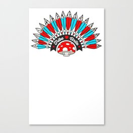 Tribal Trip Canvas Print