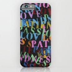 Love #2 Slim Case iPhone 6s