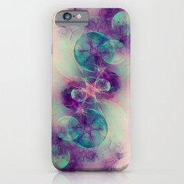 Kabbalah Nebula Fractal Art iPhone Case