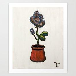 Infinity Rose Art Print