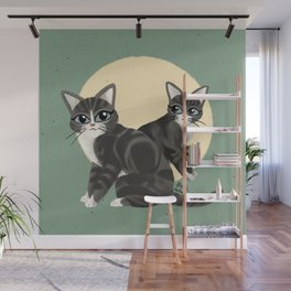 Lovely kitties Wall Mural