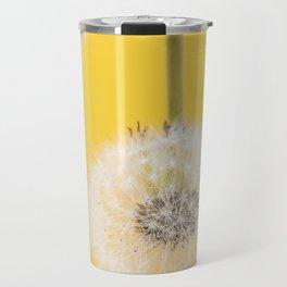 Whishes on yellow Travel Mug