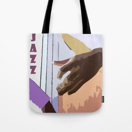 Jazz Illustration Tote Bag