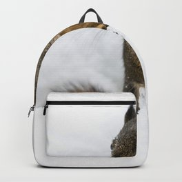 Winter Squirrel III -  Cute Wildlife Animals Nature Photography Backpack
