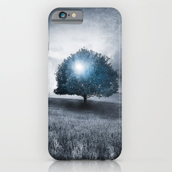 Energy from the blue tree iPhone & iPod Case