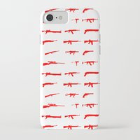 guns iPhone & iPod Cases featuring Guns by Abdelati Dinar