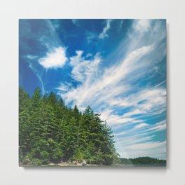 Long Island, Washington Sky Metal Print