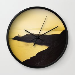 The Coast of Howth Wall Clock