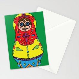 Sugar Matrioshkas #1 Stationery Cards