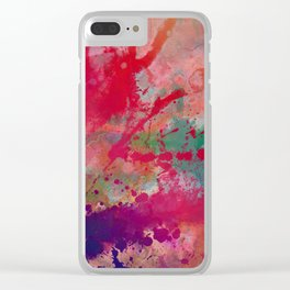 Undone Clear iPhone Case