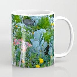 Succulents & Flowers Coffee Mug
