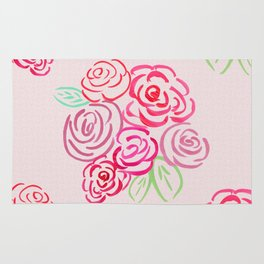 Glorious Rose bunch Rug