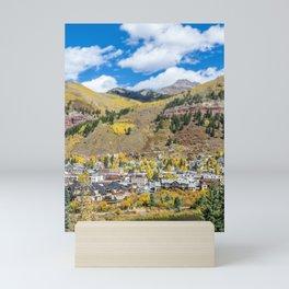 Telluride Tiltshift Mini Art Print