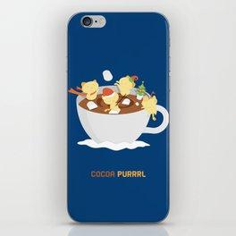 Kitty Cocoa Purrrl iPhone Skin