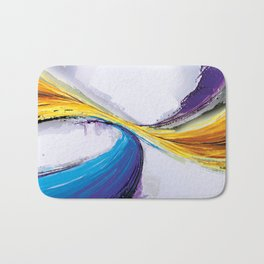 Abstract Art Britto - QB296 Bath Mat