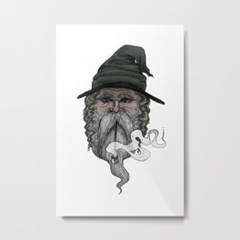 Haldor the Wizard (in color) Metal Print