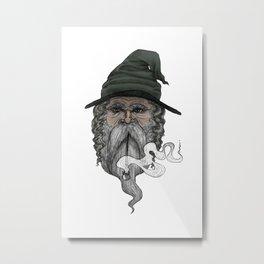 Haldor the Wizard (in color) Metal Print