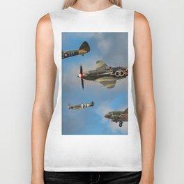 Vintage Aircraft Biker Tank