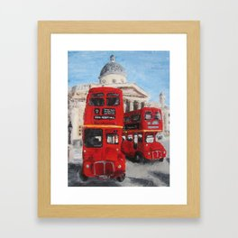 A London Journey Framed Art Print