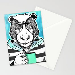 Grumpy MonkeyBear Stationery Cards