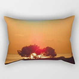 Dawn in the South seventh Rectangular Pillow