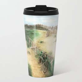 Bikes and Beach Travel Mug