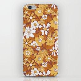Blooming Seventies iPhone Skin