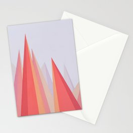 Alpenglowing Stationery Cards