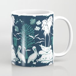 La Jolla California Beach Print Coffee Mug