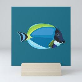 Blue Tang Mini Art Print