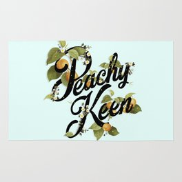 Peachy Keen : Mint Rug