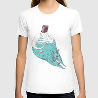 fat T-shirts featuring sad fat and ugly by mariana, a miserável(the miserable one)
