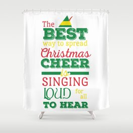 Christmas Cheer Shower Curtain