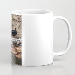 Stockyard Horses Coffee Mug