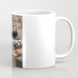 Stockyard Horses Coffee Mug