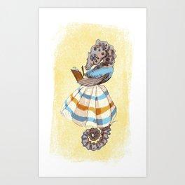 Ms. Seahorse Art Print