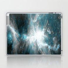 Orion Nebula Teal Gray Galaxy Laptop & iPad Skin