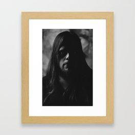 Lawrie Brewster (Self Portrait) Framed Art Print