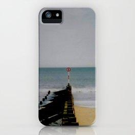 Sky Sea Sand iPhone Case