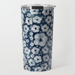 Mood indigo ditsy floral Travel Mug
