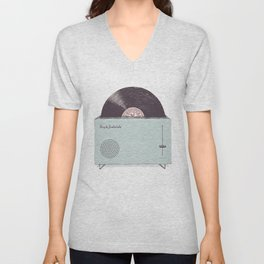 High Fidelity Toaster Unisex V-Neck