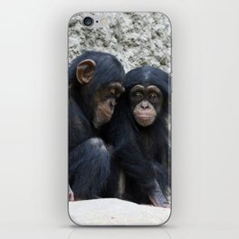 Chimpanzee 002 iPhone Skin