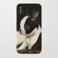 puppy iPhone & iPod Cases featuring Puppy by EliseBrave