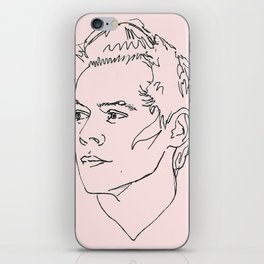 Harry Styles Drawing iPhone Skin